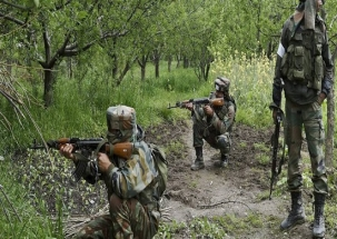 Kashmir: Encounter underway in Kupwara; militant killed, two jawans injured