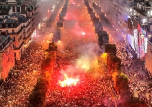 FIFA World Cup 2018: People of France celebrates historic win on Paris streets