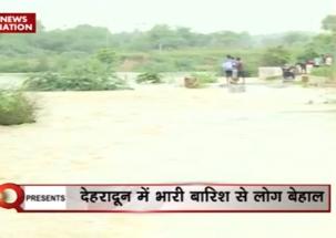 Heavy rain lashes Uttarakhand, Assam; disrupts daily life