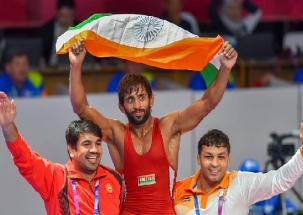 Asian Games 2018: Bajrang Punia wins gold in 65 kg freestyle wrestling