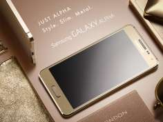 Galaxy Alpha: Samsung's thinnest Android smartphone