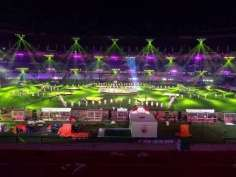 Indian Super League kicks off with glamour and glitz