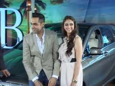Abhay Deol, Aditi Rao Hydari launch Mercedes Benz B-Class