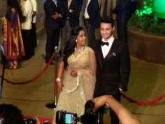 Arpita's wedding reception pics!