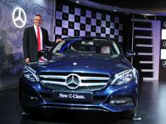 All new Mercedes Benz C class launched