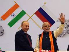 Putin on India visit