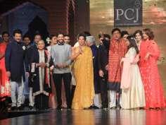 Bollywood clans walk the ramp!