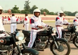 BSF makes seven new records of bike riding