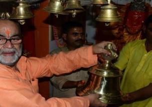 BJP MLC Bukkal Nawab organises Hindu event, chants Hanuman Chalisa