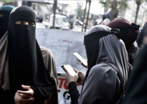Shiv Sena calls for ban on burqa in public places citing security risk