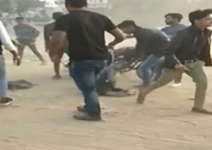 Watch: Agra students attack another student, video goes viral