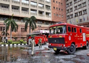 Fire breaks out at Delhi hotel, no casualties reported