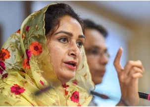 AAP is 'B' team of Congress, has no credibility: Harsimrat Kaur Badal