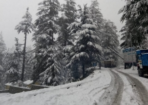 Himachal and Kashmir Valley receives season's heaviest snowflakes