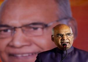 BJP seeks apology from Congress over Gehlot's remark on Prez Kovind