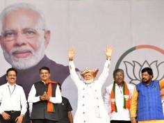 From Nashik, PM Modi Launches BJP's Campaign For Maharashtra Polls