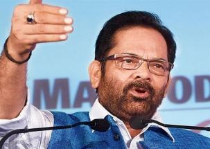 Mukhtar Abbas Naqvi calls Rahul Gandhi as 'chief of gaali gang'