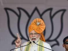 In Pics: PM Modi Out On Election Rally Spree, Lists His Government's Achievements
