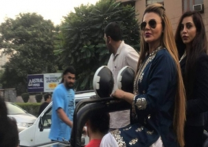 Rakhi Sawant challenges professional wrestler to bout, knocked out within minutes