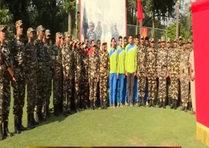 Watch how SSB jawans celebrate 'Diwali' festival home away from home