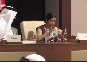 Fight against terror is not confrontation against any religion: Swaraj