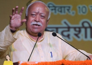 Lok Sabha Election 2019: RSS Chief Mohan Bhagwat casts vote in Nagpur