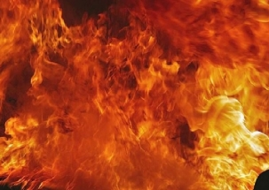 Jammu and Kashmir: Panchayat Ghar set ablaze in Sopore