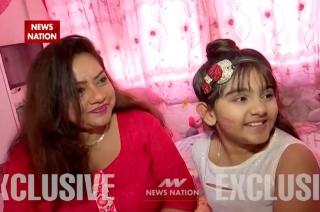 Child actress Arsheen Namdar celebrates Kiss Day with mother Anuradha Kanabar