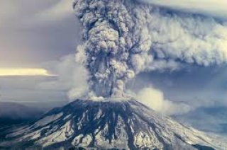 Volcano erupts in Indonesia, spews massive columns of ash