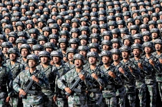 China improving its military posture and force projection
