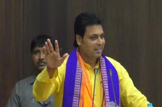 Question Hour: Don't run after govt jobs, milk cow instead, says Tripura CM Biplab Deb