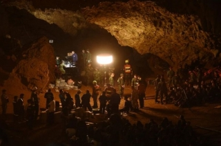 Thai boys, football coach rescued after being trapped in flooded Tham Luang cave