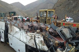 Iran: Bus crash claims 27 lives in Tehran