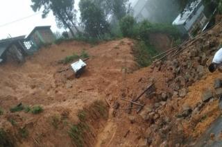 Viral video of massive landslide from Mongolia