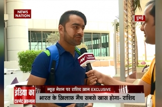 Rashid Khan - NN Exclusive, India vs Afghanistan | 'We will rectify our mistakes and defeat India'