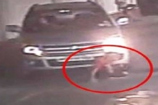 Nation View: Child escapes unhurt after car runs over him