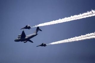 86th Air Force Day: Jaguar, Bison, MiG-29, among air display and acrobatics