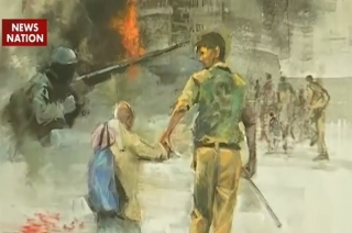 Art exhibition showcases the massacre of 26/11 terror attack in Mumbai