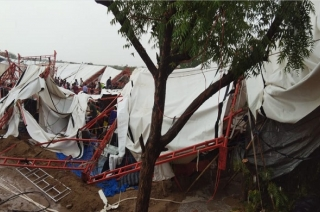 18 killed, over 50 injured after tent collapses in Rajasthan's Barmer