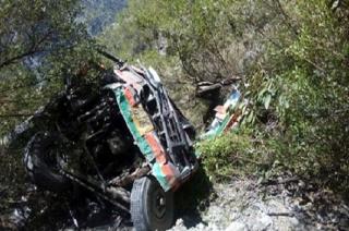 Jammu and Kashmir: 20 killed, 16 injured after minibus falls into gorge in Ramban