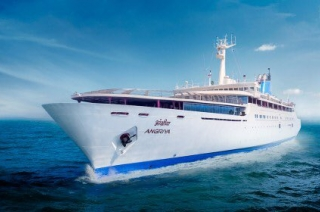Angriya, the luxury cruise from Mumbai to Goa, ready for its first journey on October 24