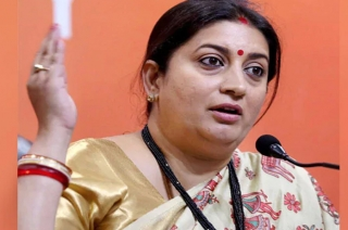Smriti Irani takes a dig at Rahul Gandhi over minimum income scheme