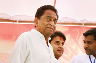 BJP protests against Kamal Nath government over power cuts in MP