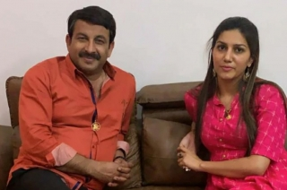 After snubbing Congress, Sapna Choudhary dines with Manoj Tiwari