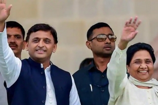 SP and BSP announce Uttar Pradesh seat-sharing list, leave 3 for RLD