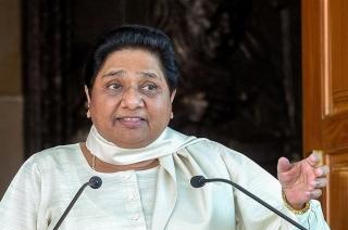 Mayawati takes a dig at Yogi, says his temple visits breach EC ban
