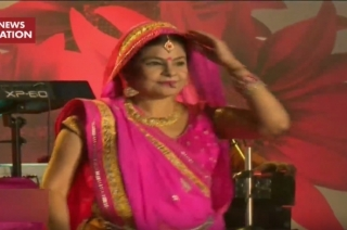 Holi: Folk singer Malini Awasthi enthralls audience at Rangkalash