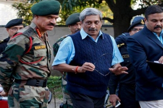 A question by journalist inspired Parrikar for surgical strikes