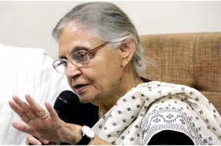 BJP and AAP are afraid of Congress, says Sheila Dikshit