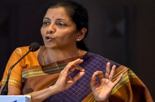 Defence Minister Nirmala Sitharaman slams Congress on Kashmir issue